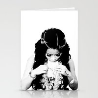cocaine Stationery Cards featuring Honey Cocaine by Kris.