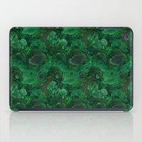 malachite iPad Cases featuring malachite by ravynka