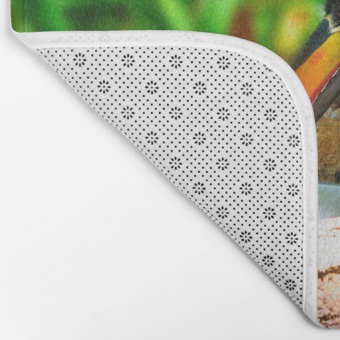 Fiery-billed Toucan Bath Mat