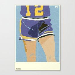 Short Shorts Canvas Print