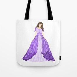 The Purple Dress Tote Bag