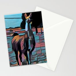 Wise Llama Stationery Cards