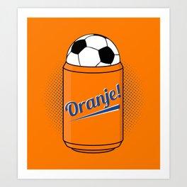 ORANJE! Art Print
