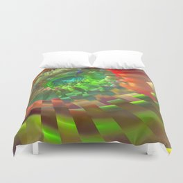 Time hole Duvet Cover