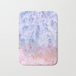 Beach Swimming Manhattan Beach Drone Shot  Bath Mat