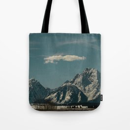 0276 Teal - Oxbow Bend, Grand Teton National Park, WY Tote Bag