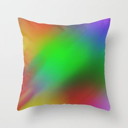 Multicolor background Throw Pillow