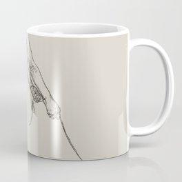 Nude Classical Woman Riding a Beetle 1895-1896 Coffee Mug