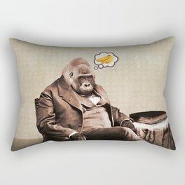 Gorilla My Dreams Rectangular Pillow