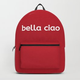 Money Heist Bella ciao netflix Backpack