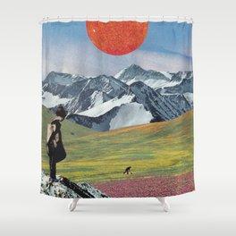 Amaterasu Shower Curtain