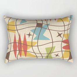 Mid Century Modern Abstract Pattern 571 Rectangular Pillow