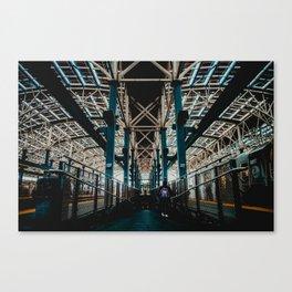 Coney Island Pier Subway Station 2 Canvas Print