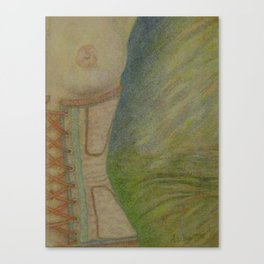 A Lingering Glance Canvas Print