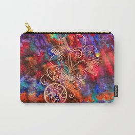 Butterfly Lace Carry-All Pouch