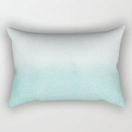 FADING AQUA Rectangular Pillow