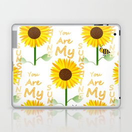 You Are My Sunshine Quote Laptop & iPad Skin