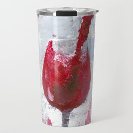 Red wine Travel Mug