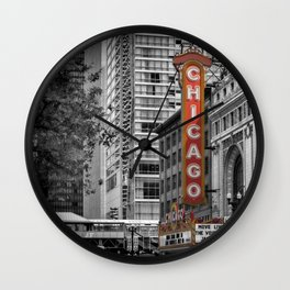 CHICAGO State Street Wall Clock