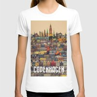copenhagen T-shirts featuring Copenhagen Facades by Siddharth Dasari