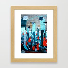 Brooklyn Escape Framed Art Print