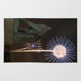 Fisherman's Memorial fireworks Rug