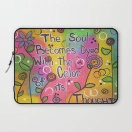 Color The Soul Laptop Sleeve