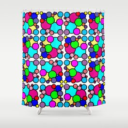 Busy Gumballs Shower Curtain