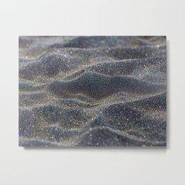 Glitter Sands Metal Print
