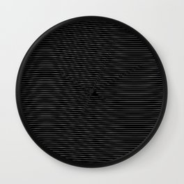 Impossible Lines Wall Clock