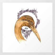 SAINT AIRONE  Art Print