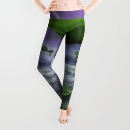 Purple and Green Agate Leggings