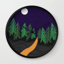 Ogham Woods 2 Wall Clock