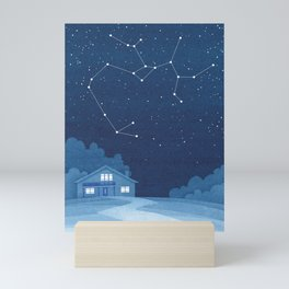 Sagittarius Constellation, house Mini Art Print