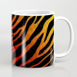 Ripped SpaceTime Stripes - Yellow/Red Coffee Mug