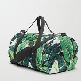 Tropical Banana leaves pattern Duffle Bag