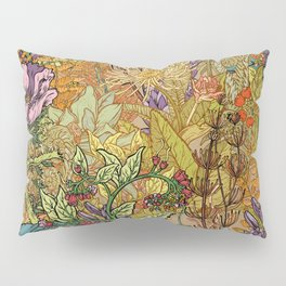 Floral Garden Pillow Sham