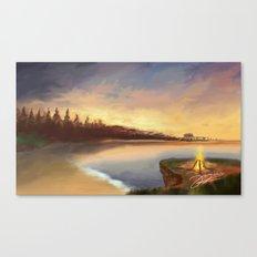 burning horizon  Canvas Print