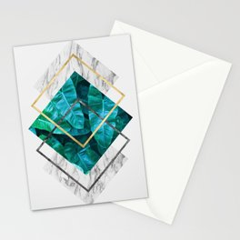 Plant collage IX Stationery Cards
