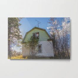 Abandoned House, Goodrich, North Dakota 1 Metal Print