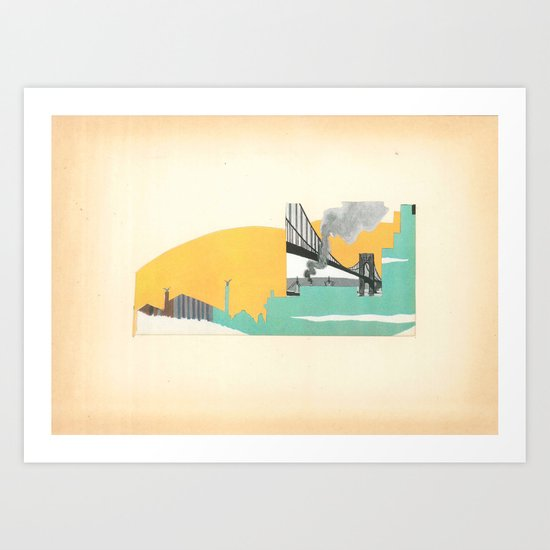 Brooklyn Summer Art Print