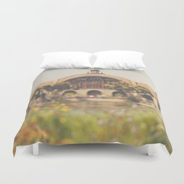 all the colours & curves ... Duvet Cover