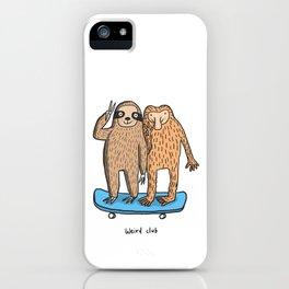 Weird Club iPhone Case