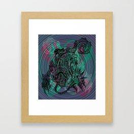"""Frances The Mute"" Framed Art Print"