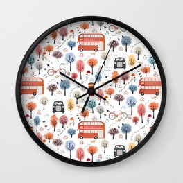 London transport Wall Clock
