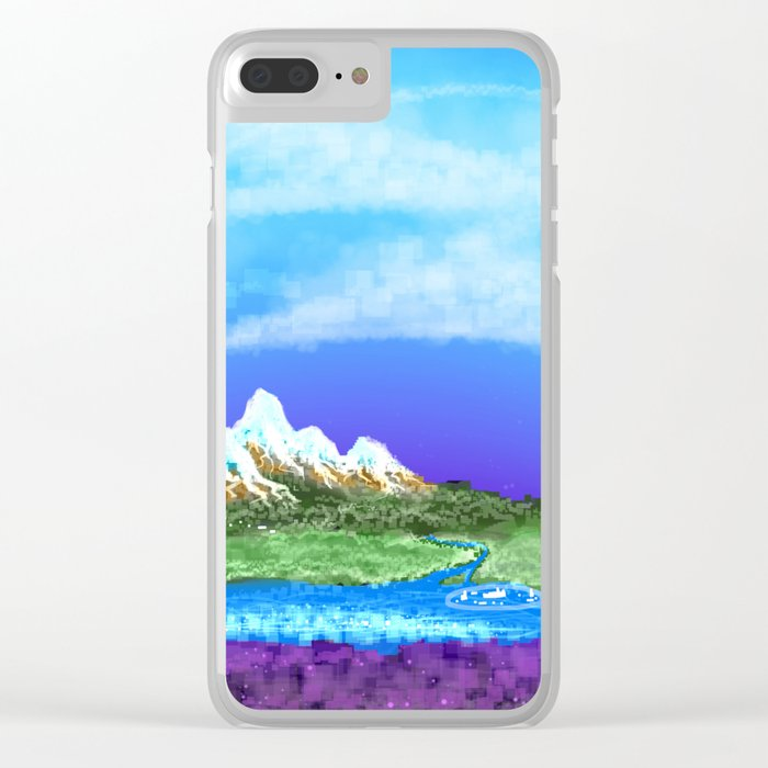 The Kingdom of Luxia Clear iPhone Case