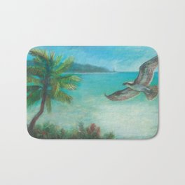 Belle's Journey: Island Hopping Bath Mat