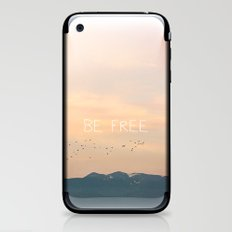 Be Free iPhone & iPod Skin