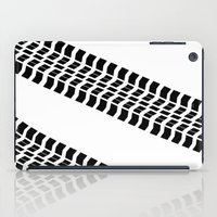 truck iPad Cases featuring Tyre Truck by Arhipelago