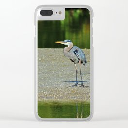 Counting the Steps Between Us Clear iPhone Case